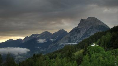 Varful Hohe Munde, Moesern, Tirol, Austria