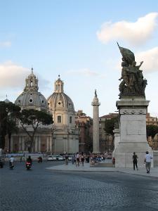 Piata Venetia, Columna lui Traian, Roma, Italia