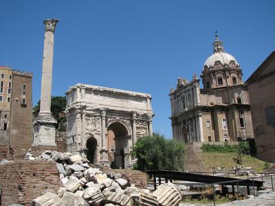 Forumul Roman, Roma, Italia