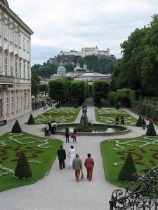 Gradinile Mirabell, Salzburg, Austria