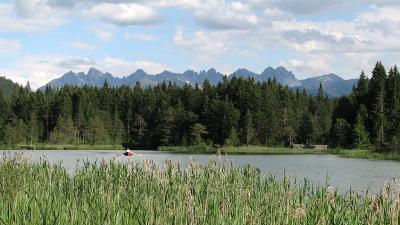 Lacul Wildsee, Seefeld in Tirol, Austria