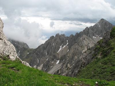 Panorama de pe varful Seefelder, Seefeld in Tirol, Austria