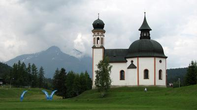 Biserica Seekirchl, Seefeld in Tirol, Austria