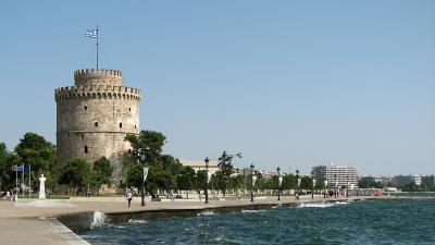 Salonic, Turnul alb si faleza