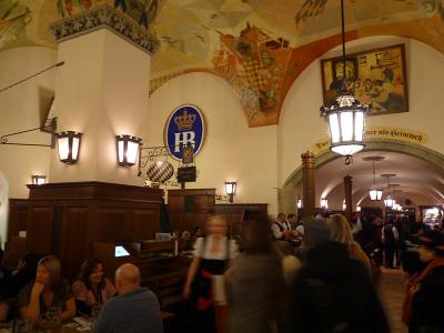 Interior Hofbrauhaus, Munchen, Germania