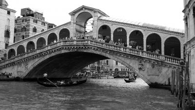 Podul Rialto, Venetia, Italia
