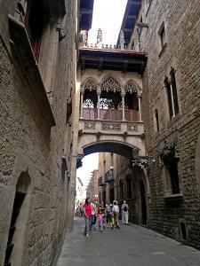 Carrer del Bisbe Irurita, Barri Gotic, Barcelona