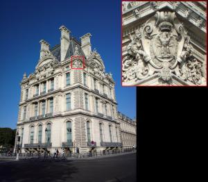Paris - Palatul Luvru - detaliu camera Nokia 808 rezolutie maxima