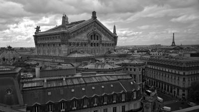 Paris - Panorama Opera Garnier